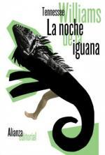Portada del libro La noche de la iguana
