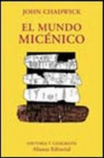 Portada del libro El mundo micenico
