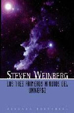Portada del libro Los tres primeros minutos del universo