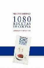 Portada del libro 1080 recetas de cocina (Homenaje)