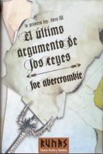 Portada del libro El último argumento de los Reyes. La Primera Ley. Libro III