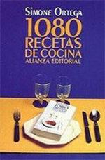 Portada del libro 1080 recetas de cocina