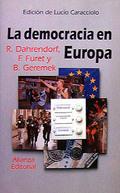 Portada del libro La democracia en Europa