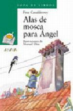 Portada del libro Alas de mosca para angel