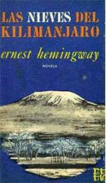 Portada del libro Las nieves del Kilimanjaro