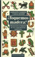 Portada del libro ¡Toquemos Madera!