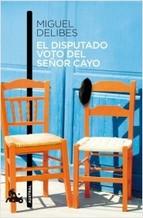 Portada del libro El disputado voto del señor Cayo
