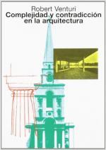 Portada del libro Complejidad y contradicción en la arquitectura