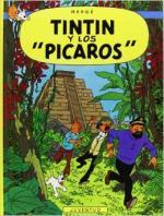 Portada del libro Tintín y los pícaros. Las aventuras de Tintín