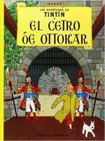 Portada del libro El  cetro de Ottokar. Las aventuras de Tintín