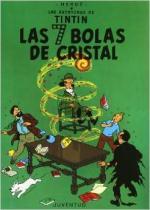 Portada del libro Las 7 bolas de cristal. Las aventuras de Tintín