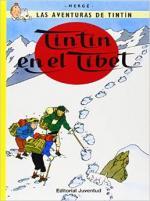 Portada del libro Tintín en el Tibet. Las aventuras de Tintín