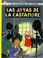 Portada del libro Las joyas de la Castafiore. Las aventuras de Tintín