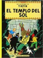 Portada del libro El  templo del sol. Las aventuras de Tintín