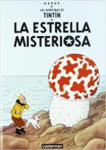Portada del libro La estrella misteriosa. Las aventuras de Tintín