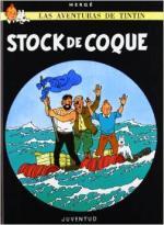 Portada del libro Stock de coque. Las aventuras de Tintín