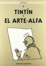 Portada del libro Tintín y el arte alfa