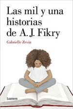 Portada del libro Las mil y una historias De A.J. Fikry
