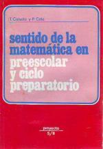 Portada del libro Sentido de la matemática en preescolar