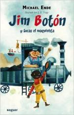 Portada del libro Jim Botón y Lucas el maquinista