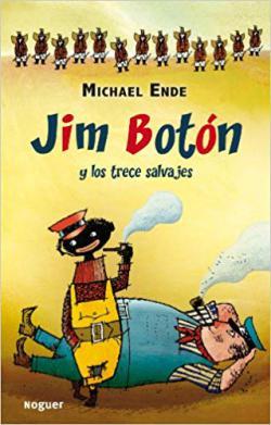 Portada del libro Jim Botón y los Trece Salvajes