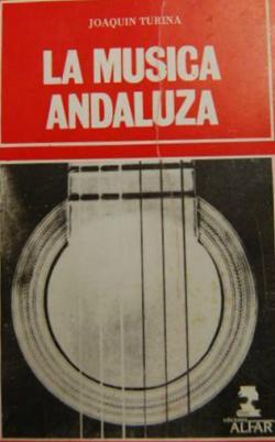 Portada del libro La música andaluza