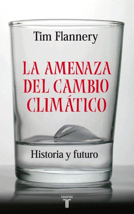 Portada del libro La amenaza del cambio climático