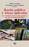 Portada del libro Razon publica y eticas aplicadas Los caminos de la razon pra