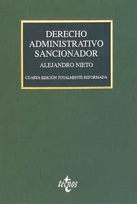 Portada del libro Derecho Administrativo sancionador