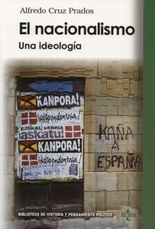 Portada del libro El nacionalismo Una ideologia