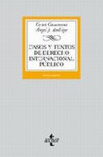 Portada del libro Casos y textos de Derecho Internacional publico