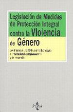 Portada del libro Legislacion de medidas de proteccion integral contra la viol