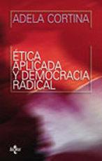Portada del libro etica aplicada y democracia radical