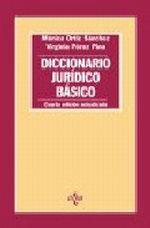 Portada del libro Diccionario juridico basico