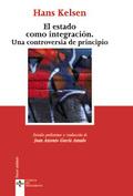 Portada del libro El Estado como integracion Una controversia de principio
