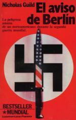 Portada del libro El aviso de Berlín