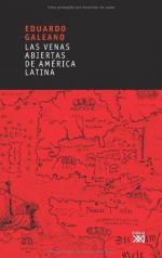 Portada del libro Las venas abiertas de América Latina