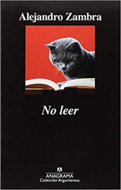 Portada del libro No leer