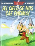 Portada del libro Astérix: ¡El cielo se nos cae encima!