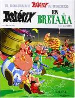 Portada del libro Astérix en Bretaña