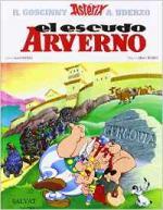 Portada del libro Astérix: El escudo arverno