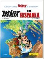 Portada del libro Astérix en Hispania