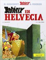 Portada del libro Astérix en Helvecia