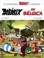 Portada del libro Asterix en Bélgica