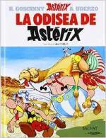 Portada del libro La odisea de Astérix