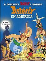 Portada del libro Astérix en América