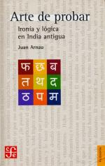 Portada del libro Arte de probar: Ironía y lógica en India antigua