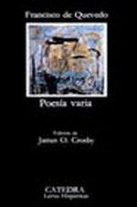 Portada del libro Poesia varia