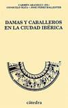 Portada del libro Damas y caballeros en la ciudad iberica Las ceramicas decora