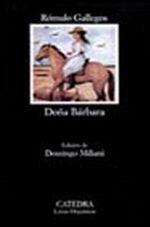 Portada del libro Doña Barbara